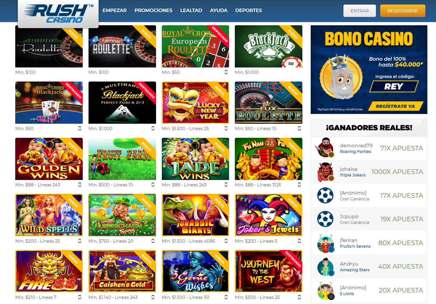 Rushbet Casino